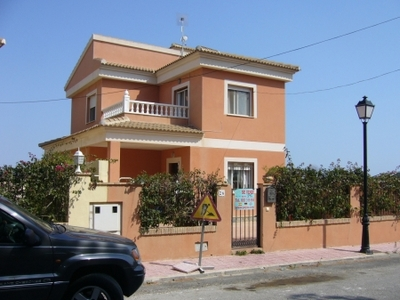 We are pleased to offer this detached Villa in an elevated position overlooking El Galan. The prope, Spain