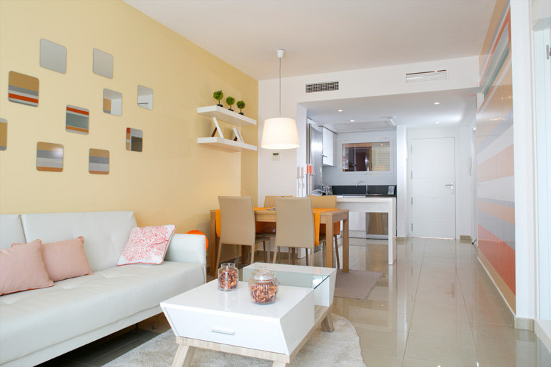Lovely new build apartment in Alameda del Mar, Playa Flamenca, Orihuela Costa. The apartment has 72, Spain