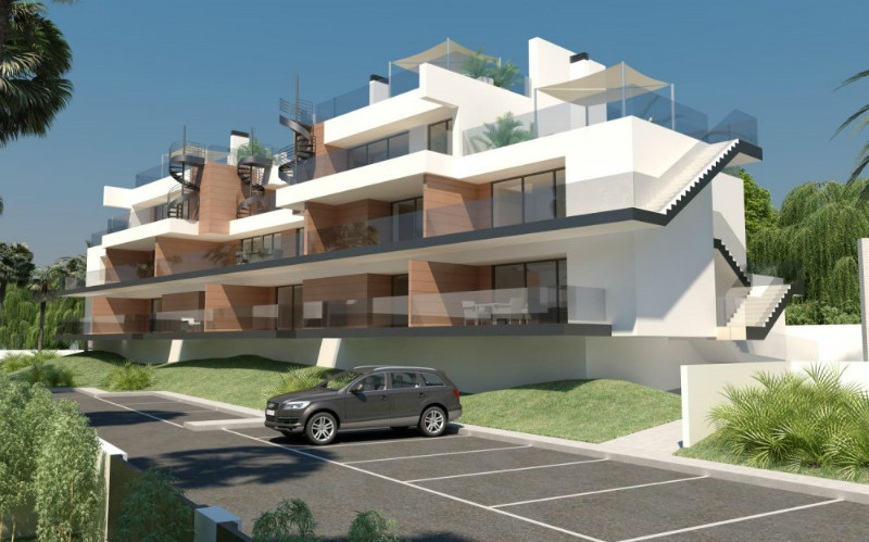 Key-ready two bedroom, two bathroom new-build apartment, located in Pau 1, Villamartin. The lo, Spain
