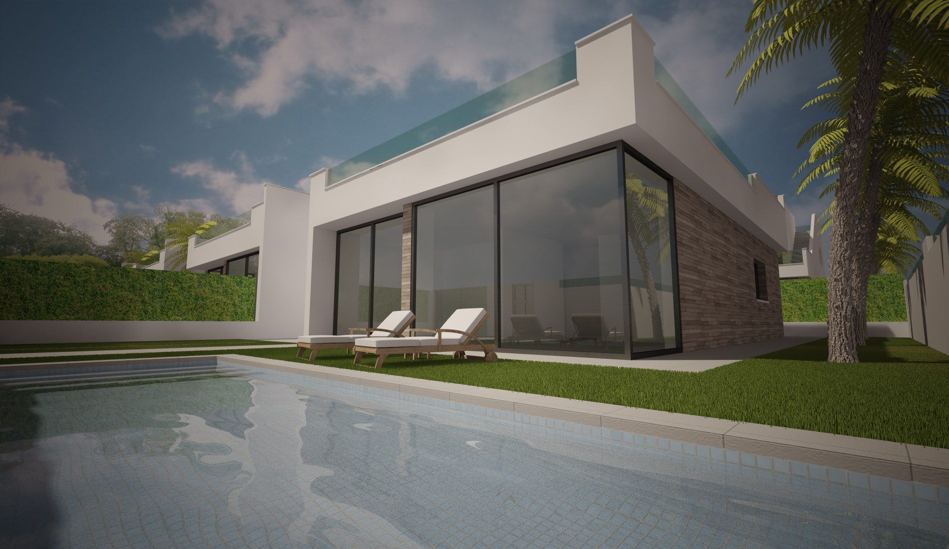With a six month build time, these beautiful modern villa´s are located within walking distance,Spain